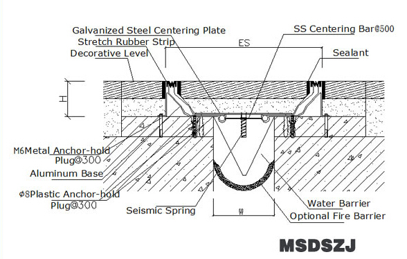 Mm joint gap rubber floor expansion msdszj buy