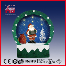 (40110F150-ST1-GG) Snowing Christmas Decorations with Frame-supported and Textile-decorated