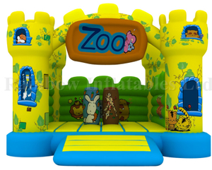 RB1113(4x4m)Inflatables Zoo Theme Bouncer