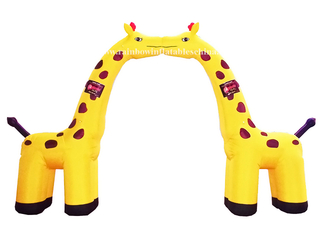 RB21009(6x5m)Inflatable Giraffe Arch/ Inflatable Customized Arch
