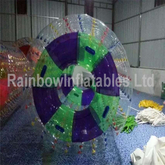 RB33011(dia 1.5m) Inflatable blue zorb roller for sale