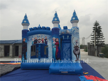 Outdoor Commercial Inflatable Frozen Jumping Castle for Children