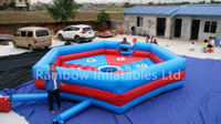RB91015 (dia 7m)Inflatable Wipeout Game Matrress /inflatable mechanical bull