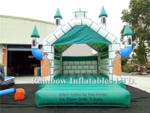 RB2013(4x5x4m)Inflatable Green Bouncy Castle For Party