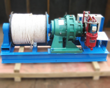 JK-D electric winch in straight structure design