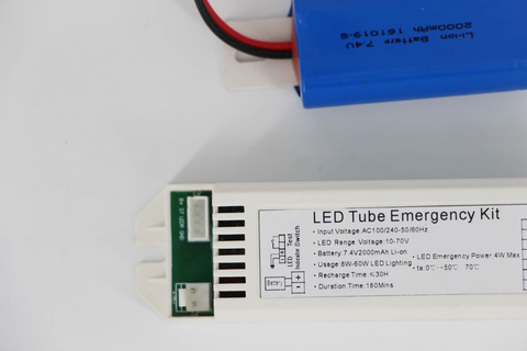 4W Output Emergency Kit For 18W LED Tube