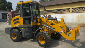 CE Certificated Agricultural Mini Wheel Loader ZL10