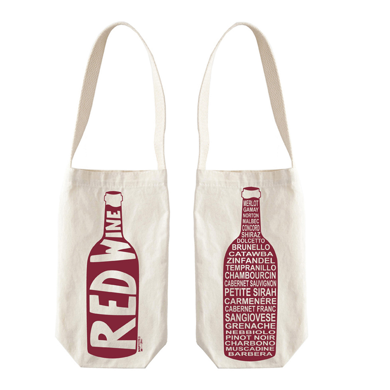 Personalized Wine Bottle Gift Bags Drawstring Bag