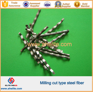 Milling cut type steel fiber