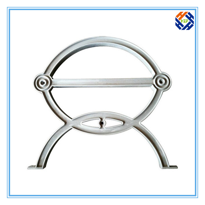 Garden Bench End Outdoor Furniture by Die Casting Processing-5