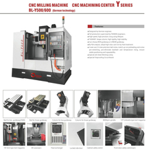 BL-Y500 600 CNC Milling CNC Machining Center