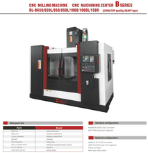 BL-B650 650L 850 850L 1060 1060L 1580 CNC Milling CNC Machining Center