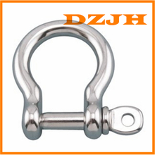 Bow Shackle 316 Stainless Steel with Screw Pin