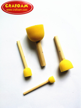 Foam Painting Brush Yellow
