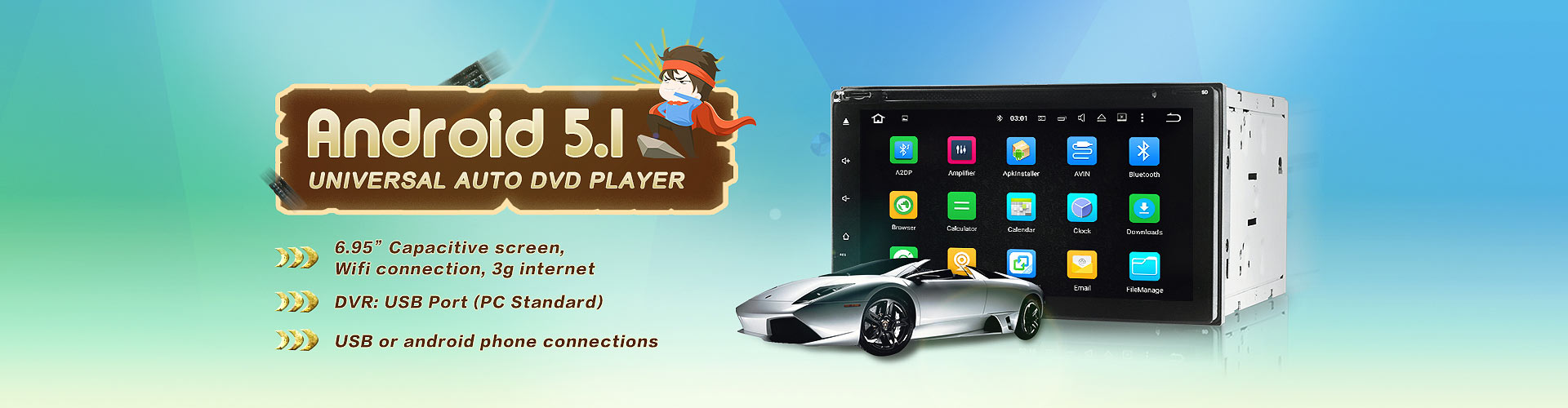 Android Universal dvd player