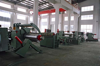 automatic steel sheet slitting machine