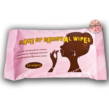 Make up remover wet Wipes