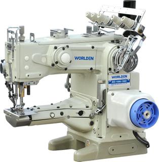 WD-1500-156D厌烦胳膊自动线程数剪切互锁缝纫机(直接传动)