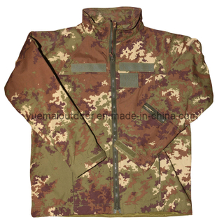 Military Vegetato Camo Softshell Jacket