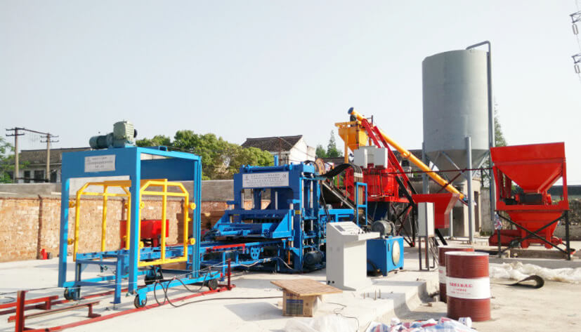ZCJK4-15 brick machine in Jiangsu,China