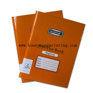 200 pages 160x210mm staple binding 8mm single line exercise book