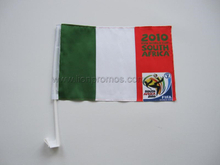 World Cup Football Game Promotional Car Window Flag