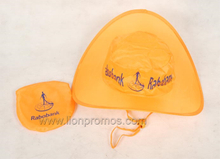 Cheap Events Gifts Polyester Folding Up Cowboy Hat