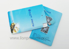 Tailored Logo Credit Card Shape 2200MAH Power Bank for Smart Phone