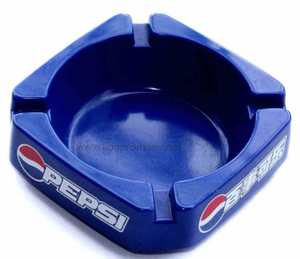 Pepsi Cola Logo Printed Square advertising Gift Melamine Ashtray