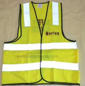 Government Traffic Police Logo Printed Safety Vest