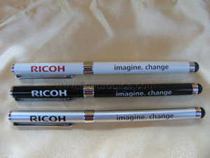 RICOH Office Gift Slim Aluminum Alloy Shell Stylus Pen
