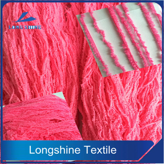 DOPE DYED MICROFIBER YARN FANCY YARN WITH LOW PRICE