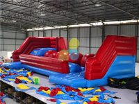 RB9132-1(12x6.3x4.3m) InflatableWipeout Big Baller Obstacle Big Baller Games