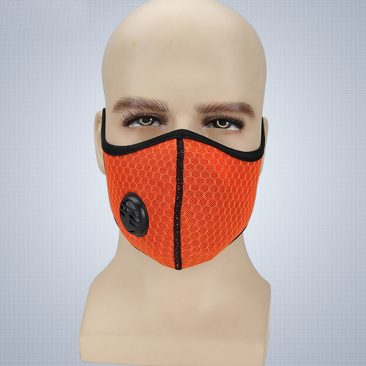 Kawang outdoor cool protection breathable respiratory bicycle activated carbon mask