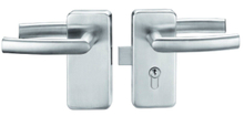 Stainless Steel Glass Door Lock (FS-202)