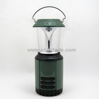 Dynamo Solar Camping Light with Radio