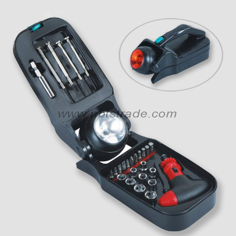Tool Set with LED Torch