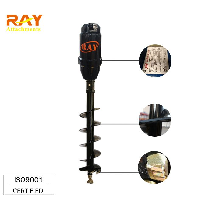 Rea5000 model hydraulic earth auger buy earth auger for Hydraulic auger motor for sale