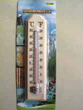 A005 Wooden Thermometer