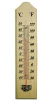 CF308-7 Wooden Thermometer