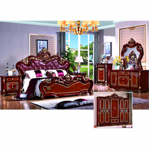 W812 Antique Bed for Home Furniture and Hotel Furniture