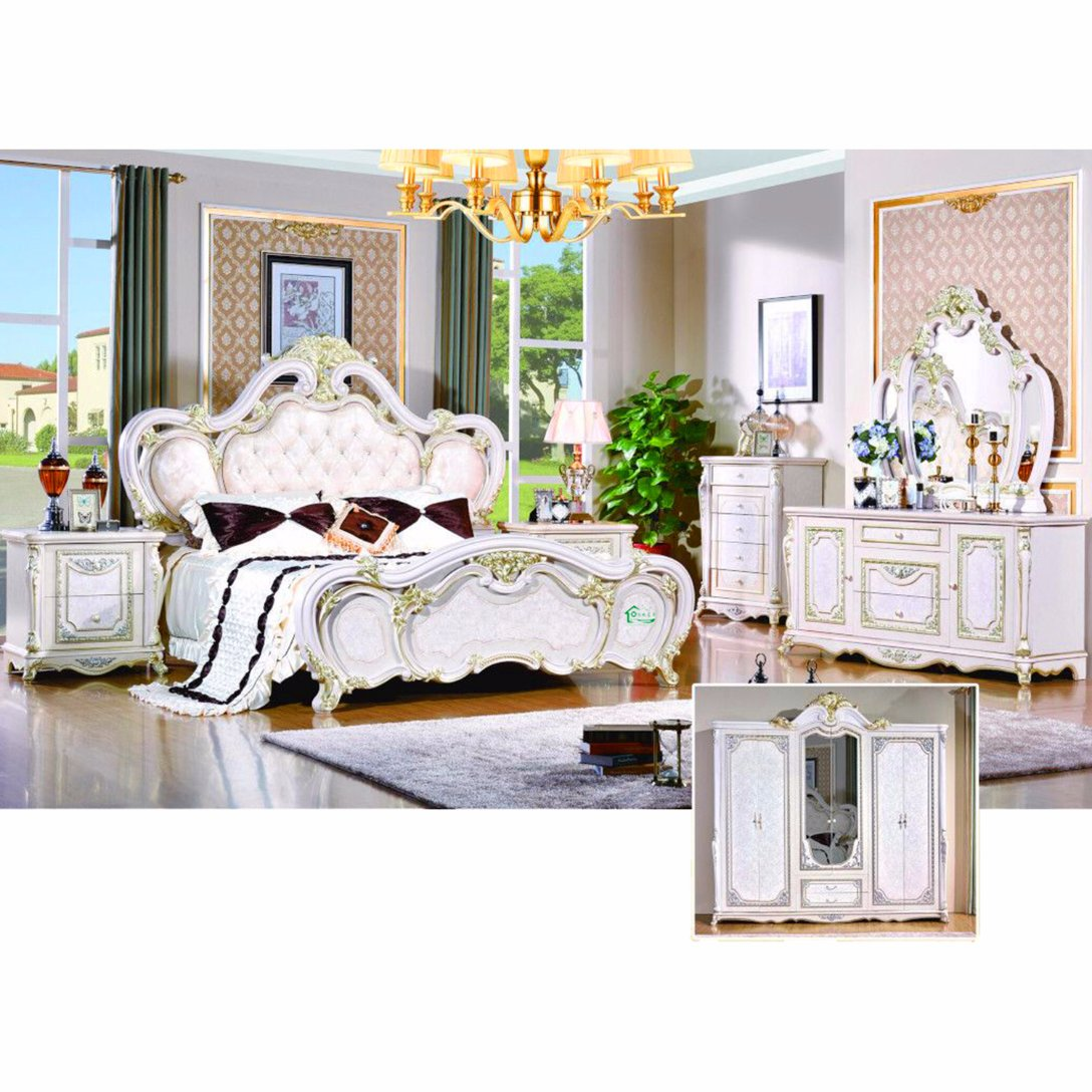 W815B Bedroom Bed For Antique Home Furniture And Hotel Furniture