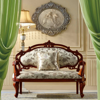 Classic Fabric Sofa Chair for Bedroom Furniture Set