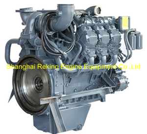 Deutz BF6M1015C-LA G2A 256KW diesel engine motor for 50HZ generator