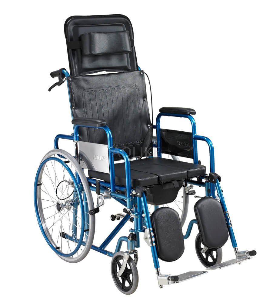 sale retailer 6d1c2 68e40 Deluxe Steel Manual manual wheelchairs for sale ALK601GC-46
