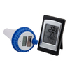 Wireless pool thermometer with solar WT0124