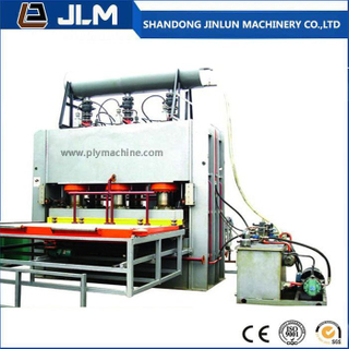 Short Cycle Melamine Hot Press Machine for Sticking Face Veneer