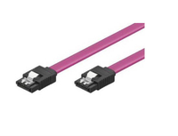 SATA Data Cable with Clip