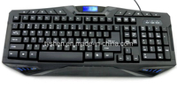 Gaming Multimedia Keyboard, Logo Lighted (KB-118)