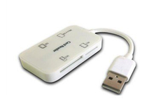 New USB Card Reade/Writer for Multi Cards Style No. Cr-042